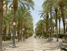 Alicante city center