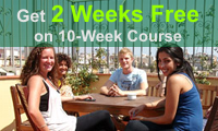 2 weeks free on 10 weeks course